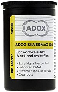 Adox Silvermax 100 Black and White Film, (35mm Roll Film, 36 Exposures)