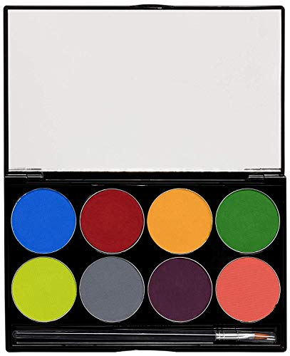 of mehron face paints Mehron Makeup Paradise AQ Face & Body Paint 8 Color Palette (Tropical)