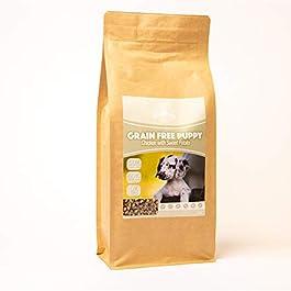 Dog & Field™ Grain Free Puppy – Chicken & Sweet Potato Complete Hypoallergenic Nutritionally Balanced Dry Dog Food 12kg