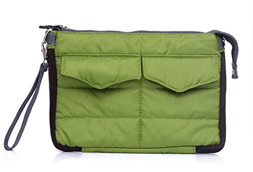 Brilliance Co Inserire Sacchetto di Immagazzinaggio dell'Organizzatore del Sacchetto per la Borsa, il Sacchetto Tablet PC - Verde