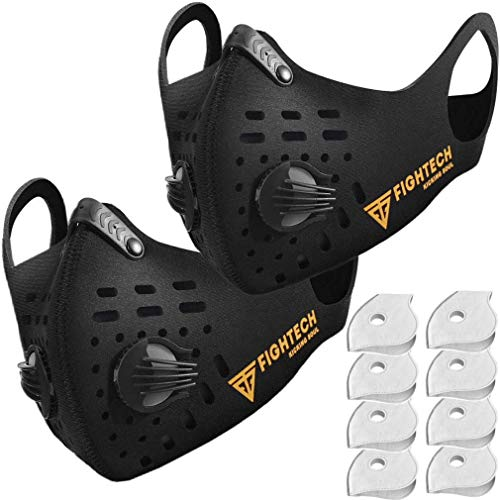 FIGHTECH Dust Mask | Mouth Mask Respirator with 4 Carbon...