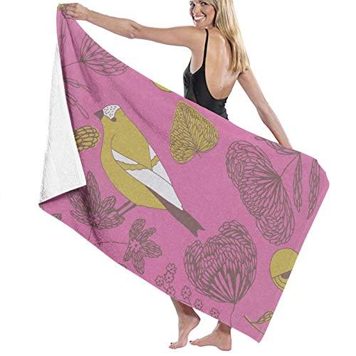Toallas de baño dulces y lindas de secado rápido suave toalla de ducha de playa 130 x 80 cm