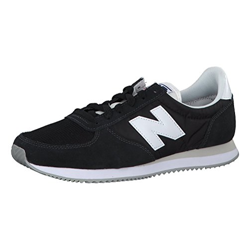 New Balance 220, Zapatillas Hombre, Negro (Black/White BK), 43 EU