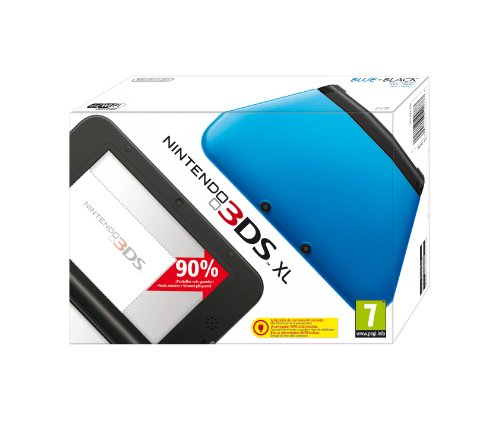Nintendo 3DS - Consola XL, Color Negro Y Azul