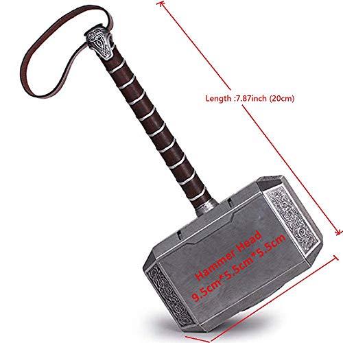 Lonme 20cm Thor's Hammer Kids Toys Cosplay Thunder Hammer Boys Birthdays Gift