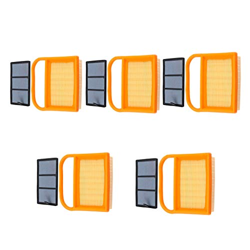 WELOVEHOME (5 Pack Air Filter Sets for Stihl TS410 TS420 TS410Z TS420Z TS480 TS500i Concrete Cutoff Saw Replace 4238 141 0300