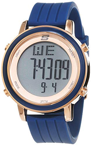 Skechers Damen Digital Uhr mit Silikon Armband SR6010