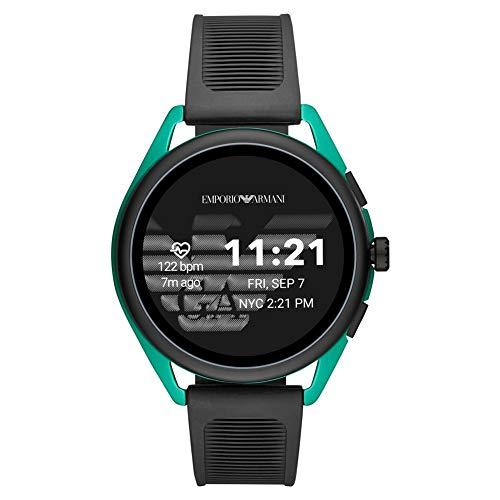 Emporio Armani - Touchscreen Smartwatch 3, EPDM nero, gomma sintetica -...