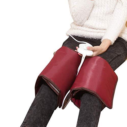 Rodillera con calefacción Soporte para envoltura Almohadilla térmica eléctrica terapéutica Cinturón de tubo...