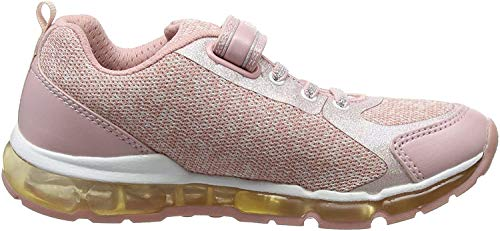 Geox Mädchen J Android Girl B Sneaker, Pink (Rose/White), 36 EU