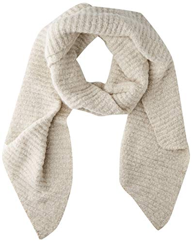 PIECES Damen PCPYRON STRUCTURED LONG SCARF NOOS BC Schal, Whitecap Gray, ONE SIZE