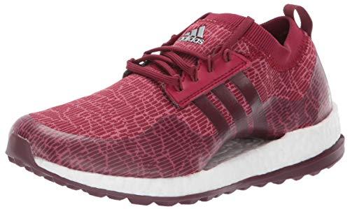adidas Women's W Pureboost xG Golf Shoe, Maroon/Dark Rust/Trace Maroon, 7 M US