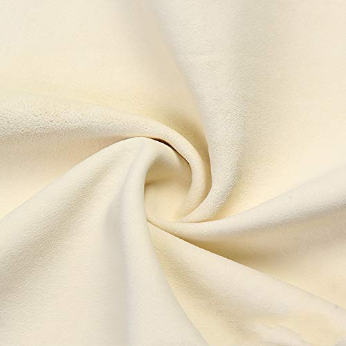 Natuurlijk leer suede schoonmaakdoekje auto wassen snel drogen absorberende handdoek gestreept fluweel maat 6