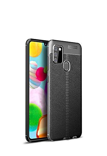 Bolso de un teléfono portátil Para Samsung Galaxy A21S Case, a prueba de golpes Alto Impacto Caja híbrida resistente de goma resistente protectora anti-shock Teléfono móvil resistente al shatter Casel