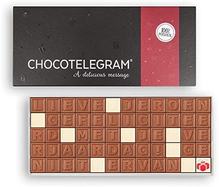 Telegramma di cioccolato - 60 caratteri B07RT1CPSJ