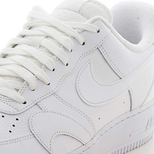 Nike Air Force 1 '07 LV8 2, Zapatillas de básquetbol Hombre, Blanco, 38.5 EU