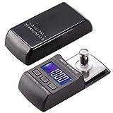 Gaoominy 100G / 0.01G Tocadiscos Digital Stylus Force Meter LP Record Player Medidor de PresióN de Aguja con 10G Peso de CalibracióN