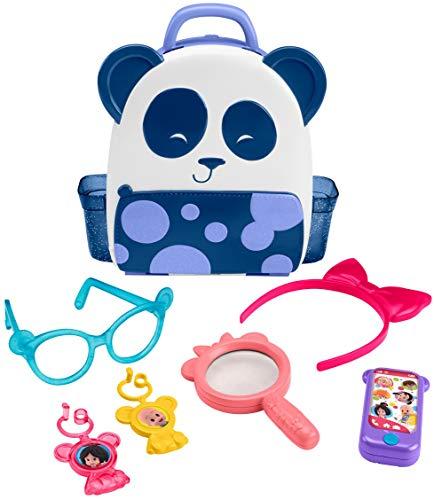 Mattel-FLW56 Mochipanda de Cleo, juguete familia Telern (FLW56)