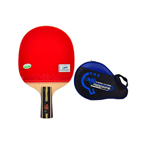 Best Deals! YINJIESHANGMAO Table Tennis Racket, 4 Stars, Finished Table Tennis Racket, Horizontal Sh...