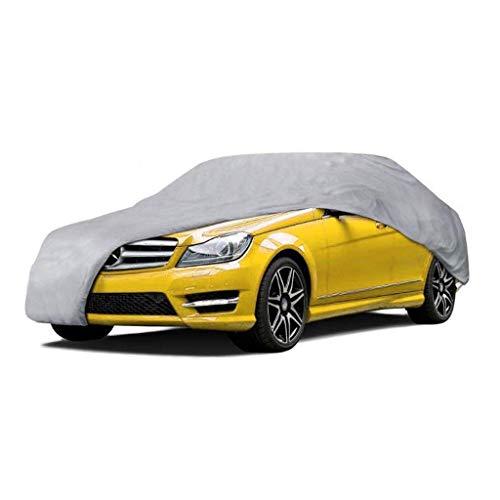 Yapin Car-Cover Kompatibel mit Mercedes-Benz Unimog Universal-Vollwasserdicht Scratch UV atmungsaktiv Außenschutz Car Cover Jacken Schutzkleidung (Color : Gray)