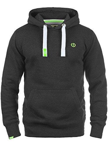 !Solid BennHood Herren Kapuzenpullover Hoodie Pullover mit Kapuze, Größe:L, Farbe:Dark Grey Melange (8288)