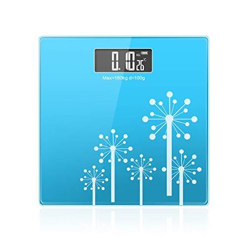 Básculas Digitales Básculas de baño para el hogar Básculas electrónicas digitales Básculas de peso corporal Báscula de pesaje de precisión con tecnología Step-On Monitores de diagnóstico y salud