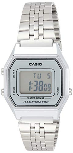 Casio Collection LA680WEA-7EF Reloj de pulsera para Mujer, Gris