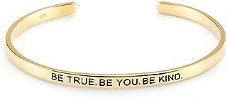 be true be you be kind bracelet