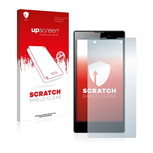 upscreen Schutzfolie kompatibel mit Kazam Tornado 350 – Kristallklar, Kratzschutz, Anti-Fingerprint