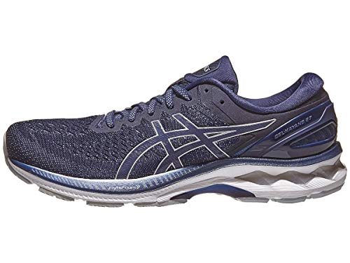 ASICS Men's Gel-Kayano 27 Running Shoes, 8M, Peacoat/Piedmont Grey