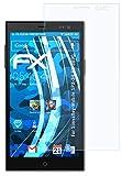 atFolix Schutzfolie kompatibel mit Simvalley-Mobile SPX-34 PX-3890 Folie, ultraklare FX Bildschirmschutzfolie (3X)