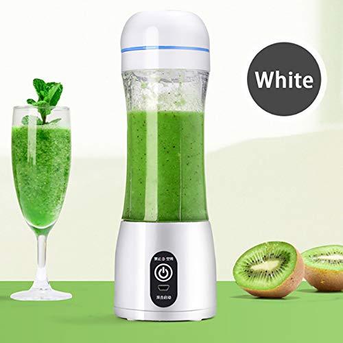 ERJQ draagbare blender, persoonlijke USB-mini-smoothie blender, elektrische fruit Juicer Cup met zes messen, 2000 mAh accu, voor shakes en smoothies