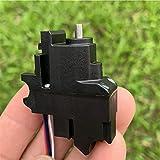 取り付けと保存が簡単で、使用しないときは密封されたバッグに入れて、湿気のある錆を防ぎます 高硬度鋼を使用することで、優れた靭性、耐衝撃性、ベアリングの品質、ギアモーターの耐用年数が向上し、非常に耐久性があります。 [定格電圧] DC 3.7V [無負荷電流] 30mA。[積載速度] 200rpm / min [適切な電圧] 3-5V(162~270rpm)