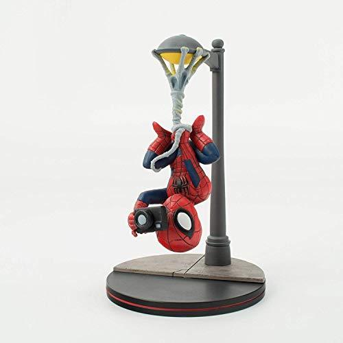 """Quantum Mechanix Spider-Man Spider Cam Q-Fig Diorama, Multi-Colored, 5"""""""