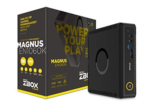 ZOTAC ZBOX MAGNUS EN1060K mini-PC Barebone (Intel Core 15-7500T quad-core, GeForce GTX 1060)
