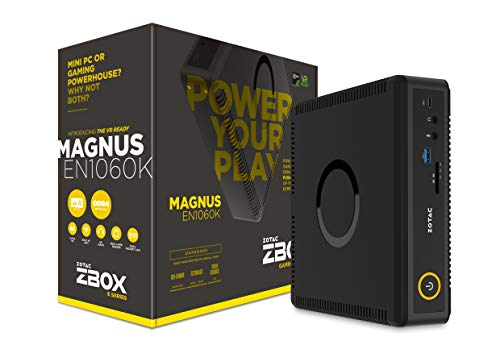 ZOTAC ZBOX MAGNUS EN1060K mini-PC Barebone (Intel Core 15-7500T quad-core, GeForce GTX 1060)