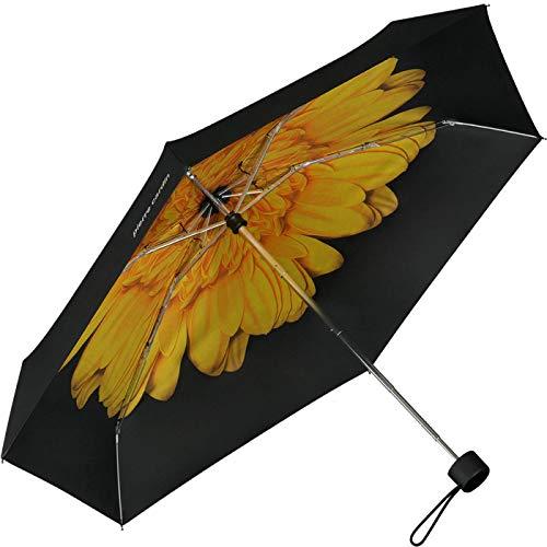 Pierre Cardin Taschenschirm Petito Interieur Flower Gelb