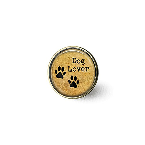 Dog Lover brooch v - Pet Paws Jewelry - Dog Lover Gift - Fur Baby Lover
