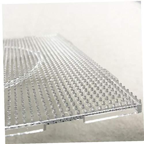 NaisiCore 2.6mm Mini Hama funde Granos Transparente Gotas Grandes tableros Cuadrados Placas de Material Plantilla Perler artkal 4PCS