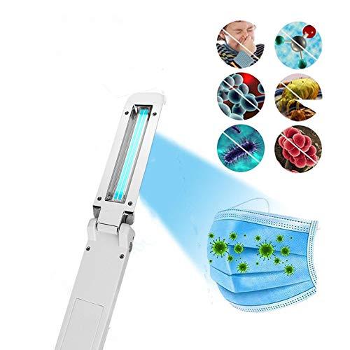 Lampada di Sterilizzazione UV, Lampada di Disinfezione UV, Torcia USB portatile per Lampada UV germicida per Viaggi a Casa