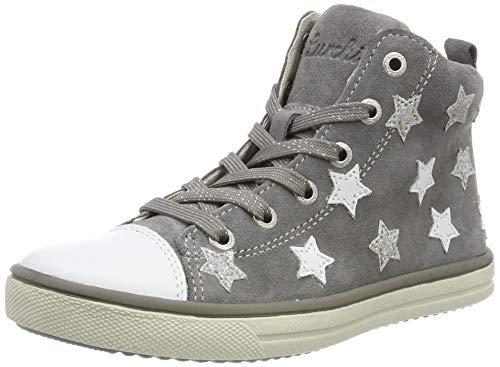 Lurchi Damen Starlet Hohe Sneaker, Grau (Grey 25), 37 EU