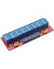 Elektronisch relais, 24 V 8-kanaals optokoppel relaismodule board High & Low Trigger relaismodule