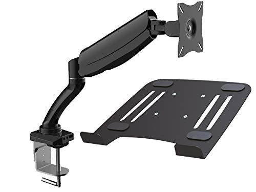 DRALL INSTRUMENTS Laptop Tisch-Halterung mit Adapterplatte für Notebook Netbook Tablet PC Keyboard Spielkonsole Mediaplayer Modell: LT12-IP3B
