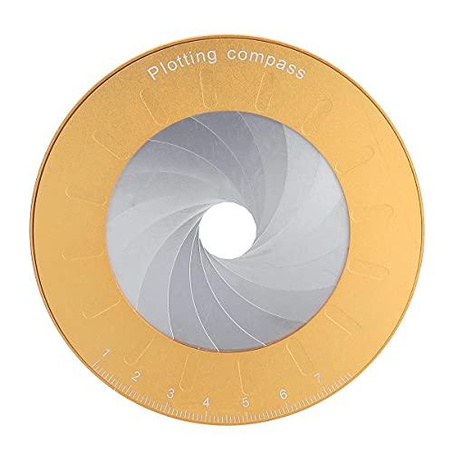XUQIANG Herramienta de Dibujo de círculo Flexible Rotary Ajustable para la Herramienta de carpintería del diseñador Herramientas manuales de carpintería de Bricolaje