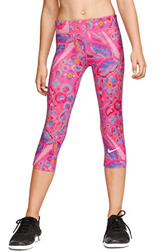Nike Kinder All Mädchen Tights, Hyper Pink/White, M