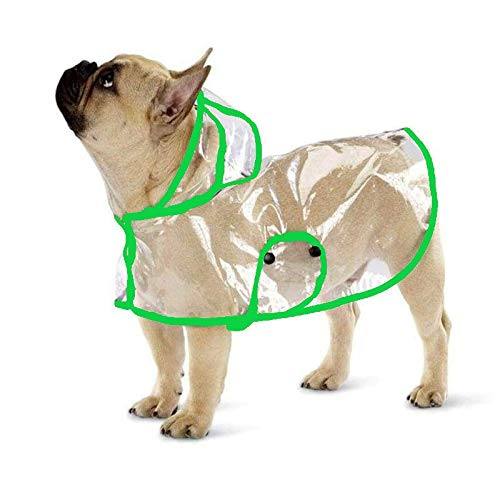 Ducomi Dogalize- Impermeable de tipo poncho con capucha para perros