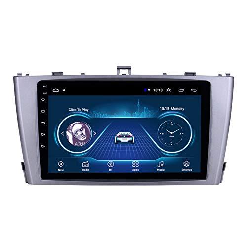 Dscam Auto Multimedia Player, Android 9.1 System 9 Zoll Touch Bildschirm Autoradio GPS für Toyota Avensis 2009-2015,mit Navigation Radio Stereo WiFi Bluetooth,4G+64G-Eight-core