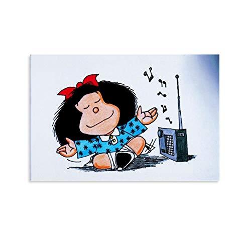DRAGON VINES Mafalda Muriel Mamá - Lienzo decorativo (60 x 90 cm)