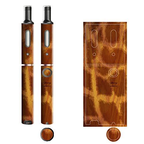 電子たばこ タバコ 煙草 喫煙具 専用スキンシール 対応機種 プルームテックプラスシール Ploom Tech Plus シール 木目調デザインシリーズ 08ジラフ 06-pt08-0308