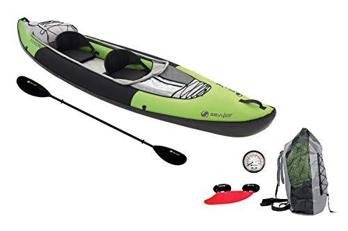 Sevylor Kayak Gonflable Yukon, Canoë Canadien 2 Places, Kayak de...